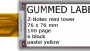 4.37″ E ink Display – Yellow