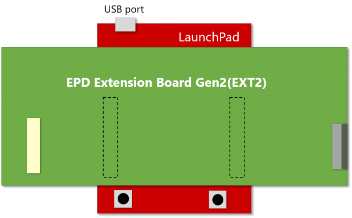 EXT2 HAT on LaunchPad